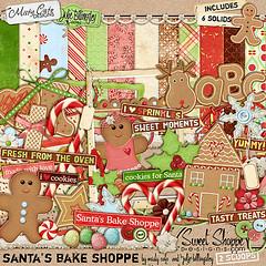 Misty Cato - Santa's Bake Shoppe (misshappy80) Tags: groen rood kerst bruin bakken koek mistycato peperkoekvrouwtje peperkoekmanntje peperkoekrendier