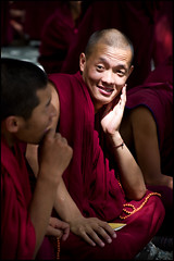 Sera Monks I (eekaphot) Tags: people person tibet monastery monks sera justpentax pentax50135f28