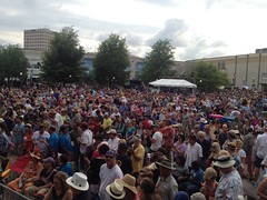 lafayette main stage crowd