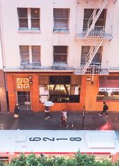 LIFE BELOW | SAN FRANCISCO (breakbeatbilly) Tags: sf sanfrancisco california street people bus rain nikon cityscape humanity streetphotography muni eddy umbrellas unionsquare tenderloin drizzle cityscene parc55 nikond810