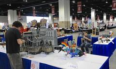Denver Comic Con 2015 Setup (Imagine) Tags: lego columbia submarine bioshock legomovie imaginerigney denvercomiccon2015