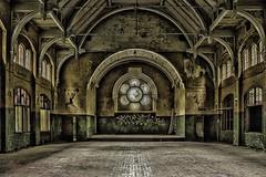 The Gym (m_schmitz1969) Tags: urban abandoned decay fenster sanatorium turnhalle halle verlassen urbex verfall beelitz heilstätten