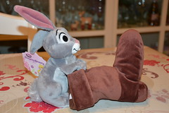 Plush Bunny Sleeping Beauty (Girly Toys) Tags: la belle au bois dormant the sleeping beauty disney aurore rose aurora philippe dame flora daisy paquerette pimprenelle maléfique evil samson collection missliliedolly miss lilie dolly plush bunny peluche rabbit lapin botte boot briar aurelmistinguette girly toys collectible girlytoys