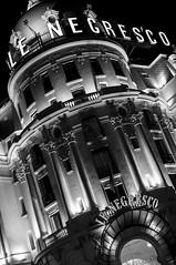 Le Negrecso (Cyrill - cpixel.fr) Tags: vert massena reflection nikon d90 reflexion nuit night black white noir blanc nb bw people water street photo photograhy photographie adobe lightroom light city motion ville urban strasbourg exploration abstract explore girl woman mouvement flou scooter rue d610 cat palais rohan ref reflet cpixel nex sony nice nissa promenade des anglais prime azur french riviera couple romantisme romantic portrait detente mer sea mditerrane peach fish volet shadow