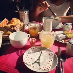Paris, juillet 2016 (Kristel Van Loock) Tags: paris parigi parijs visitparis france francia frankrijk frankreich citytrip city citt ciudad capitalcity europe europa july2016 seemyparis atparis parislovers hotel hteldelavre albergo breakfast petitdjeuner prima colazione frhstck