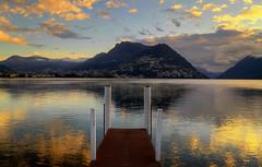Today's sunrise... (Alex Switzerland) Tags: lugano luganese ceresio sunrise alba sonnenaufgang landscape paesaggio neve snow mist nebbia atmosfera canon eos 6d switzerland svizzera