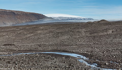 Langjkull (holger.torp) Tags: iceland kaldidalur langjkull gletcher glacier ice snow stones mountain desolete rock