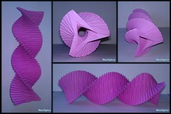 Paper Spiral Torus Three Sided / Origami Helix Twisted (4/4) (NeoSpica / NeoLiveArt) Tags: origami paper fold folding pleated structure spiral swirl helix triangle handmade homemade decor decorative infinity ring sculpture diy ideas diypaper paperengineering papercraftideas twisted column savonius wind infinityring circularstructure paperfold design paperart diydecor roomdecoration papercraft papiroflexia torus toroid geometric art moebius