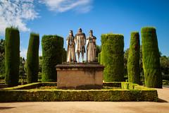 Alcazar, Cordoba (ncs1984) Tags: alzacar cordoba cordova spain espana canon6d canon travel europe eu photography andalucia andalusia garden gardens statue statues hedge hedges topiary sculpture art