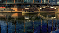 Canal Junction (emptyseas) Tags: emptyseas sony a6000 birmingham canal uk west midlands nia junction reflection national indoor arena
