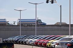 Car Culture (Ron Rothbart) Tags: california elcerrito jeffbrouws autolot cars truck