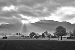 Adrian Vesa Photography (adr.vesa) Tags: bw blackwhite mountains hills fog mist morning panorama landscapes