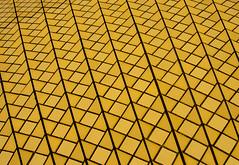 tiles opera house (Greg M Rohan) Tags: yellow art soh photography tiles sydneyoperahouse sydney 2016 d7200 texture abstract patterns pattern minimalism