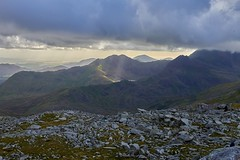 Snowdon and the North Wales coast viewed from Glyder Fach (neilsimpson515) Tags: nikon2470 tryfan snowdonia northwales nikon nikond800e landscape mountains