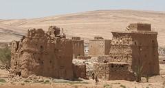 Melting village (brightasafig) Tags: yemen adobe mud desert village worldtrekker