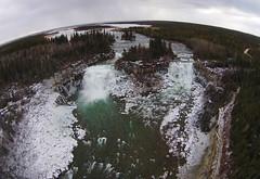 The Great Falls (Fish as art) Tags: fisheries fishhabitat northwestterritories northern canada rivers nature wilderness wideangle aerialphotography whati yellowknife greatslavelake