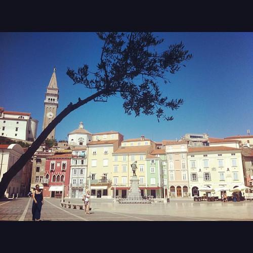 Tartini square, #piran #slovenia #eternalsummer