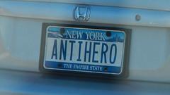 ANTIHERO (blazer8696) Tags: 2016 ecw ny newyork t2016 usa unitedstates antihero dscn0748 license plate vanity