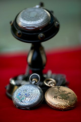 52 in 2016 Challenge - #47 - Old (crafty1tutu (Ann)) Tags: challenge 52in2016challenge 47old watch fobwatch watchstand wooden silver gold old antique vintage crafty1tutu canon1dx canon180mm35lseriesmacrolens anncameron