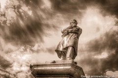 Niccolò Tommaseo (AnnieWilcoxPhotography) Tags: travellingwithacamera nikon awp wwwanniewilcoxcouk venetian hdri monument mediterranean hdr 2016 venezia sepia blackwhite anniewilcoxphotography photographytechnique october monochrome texture statue niccolòtommaseo cloud photography bw photomatix travelphotography d7000 europe camposantostefano anniewilcox niccolã²tommaseo blackandwhite highdynamicrange