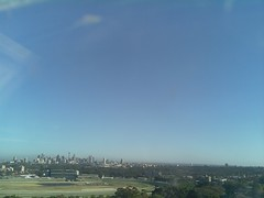 Sydney 2016 Oct 21 07:38 (ccrc_weather) Tags: ccrcweather weatherstation aws unsw kensington sydney australia automatic outdoor sky 2016 oct earlymorning