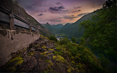 Side of the road (Fredrik meling) Tags: landscape nature earth mountains exploration 2016 explore light norway geiranger travel norge august trip visiting fjord d810 nikon mountain