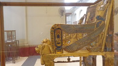 Tutankhamun's Golden Throne - Egyptian Museum (Rckr88) Tags: tutankhamuns golden throne egyptian museum cairo egypt tutankhamun africa travel tut pharoah pharoahs gold egyptianmuseum ancientegypt ancient relic relics artifact artifacts chair chairs travelling