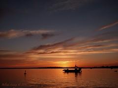 Sunset (Belinda Fewings (3 million views. Thank You)) Tags: yacht gold evening september boat water southcoastofengland panasoniclumixdmc belindafewings golden reflects reflecting silhouetting dorset christchurch sunset christchurchharbour