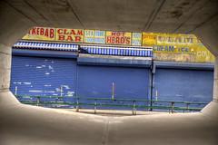 Coney Island (milfodd) Tags: october 2016 singlerawhdr coneyisland frame framed storefronts retrosigns