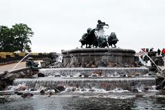 Fuente de Gefion (Copenhague, Dinamarca, 28-6-2008) (Juanje Orío) Tags: dinamarca copenhague 2008 fuente escultura sigloxx europeanunion europa europe agua water sculpture fountain