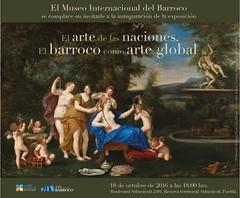 Invitacin exposicin (KRONOS Servicios de Restauracin) Tags: restauracintejidos tapices kronos mnad museointernacionaldelbarroco