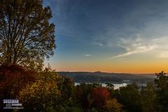 Fall Sunrise (The Suss-Man (Mike)) Tags: autumn cloud fall fallcolors gainesville georgia hallcounty lakelanier nature sky sonyslta77 sunrise sussmanimaging thesussman trees water unitedstates