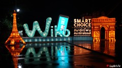 Asiatique The Riverfront, Bangkok, Thailande (Ld\/) Tags: bangkok thailande thailand night lights