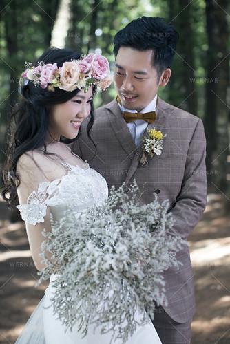 華納婚紗/婚紗攝影/哲毓&景茜