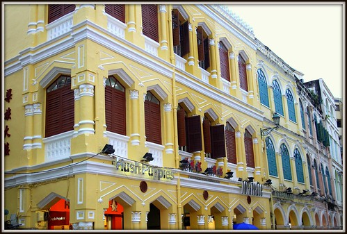 Old and the new of Macao