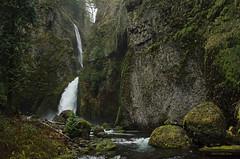 Wahclella Falls (Xipitipix) Tags: wahclellafalls columbiarivergorge pacificnorthwest oregon november gorge tannercreek water moss