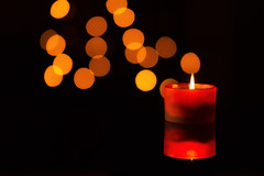 Vela (Alfredo.Ruiz) Tags: christmas merry light calm peace candle happy card red orange