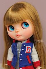 Emmeline2 (Passion for Blythe) Tags: blythe varsity takara school cute tiny baby mouth