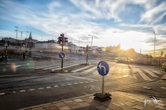 Long Exposure Crossing (jonashellsen) Tags: city clouds hdr stockholm sweden wwpw2016 longexposure street travel