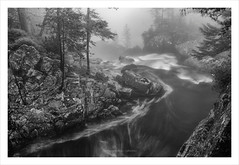_MAH2117-Modifier (anthonymahieu | photos) Tags: france nature landscape paysage torrent river rivire longexposure poselongue waterfall cascade mist fog brume mood moody forest fort pyrnes pyrenees cauterets bw blackandwhite noiretblanc monochrome