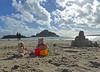 5Fri DT&Dee Sand Castle3 (g crawford) Tags: penzance cornwall marazion stmichaelsmount crawford sandbeach sandcastle dangerted ted teddy teddies dt dee bucket spade