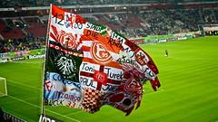 Fortuna Flag (mr.timebird) Tags: fortuna football fans fusball stadion flag fahne stadium fusballfans sport sports nikon 50mm