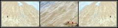 triptyque plage (zebrazoma) Tags: triptyque plage beach alone wind sea mer sans sable red rouge chil enfant adulte jeux game nikon 70200 d810 nikonflickraward