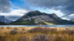 Mount Indefatigable and Lower Kananaskis Lake, PLPP (virgil martin) Tags: mountains landscape peterlougheedprovincialpark alberta canada panasoniclumixfz1000 oloneo gimp