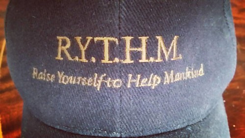 Proud to wear this CAP - important message and this is what we all do at my work. 💕  #raise #yourself #to #help #mankind