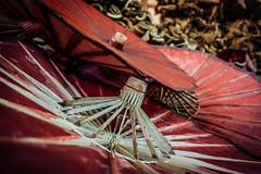 Umbrella detail (Stockografie) Tags: myanmar travel vacation umbrella bokeh paper