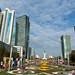 Calçadão em Astana