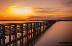 Almost Forgot About This Week 40/52 (Keith Reid Photography) Tags: sunset sunlight pier clouds sea bay ocean sun longexposure tampa florida popular populartags flickr explore travel 52 week water