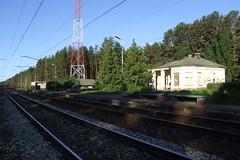 Pabažu dzelzceļa stacija, 04.06.2011. (Dāvis Kļaviņš) Tags: latvia saulkrastimunicipality saulkrastiparish saulkrastunovads saulkrastupagasts panoramio