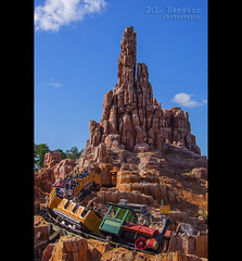 Big Thunder Mountain Railroad - Disney's Magic Kingdom (J.L. Ramsaur Photography (Thank You for 4 million ) Tags: jlrphotography nikond7200 nikon d7200 photography photo lakebuenavistafl centralflorida orangecounty florida 2016 engineerswithcameras magickingdom disneysmagickingdom photographyforgod thesouth southernphotography screamofthephotographer ibeauty jlramsaurphotography photograph pic waltdisneyworld disney disneyworld bigthundermountainrailroad runawaytrain waltdisney happiestplaceonearth wheredreamscometrue magical tennesseephotographer imagineering bigthundermountain waltdisneyworldresort rollercoaster disneyride train bluesky deepbluesky beautifulsky whiteclouds clouds sky skyabove allskyandclouds engineeringasart ofandbyengineers engineeringisart engineering